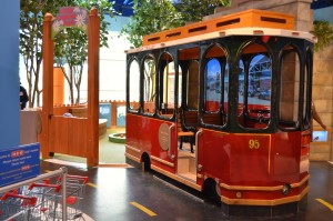 The DoSeum Trolley
