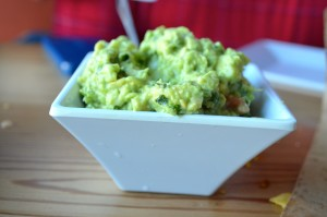 We asked for more cilantro in our table side guacamole. It had oregano too!