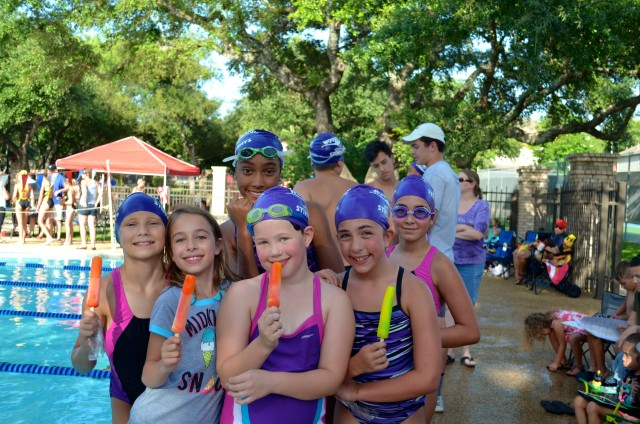 Some of our swim team friends.