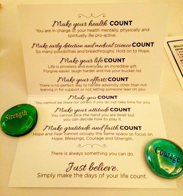 Inspirational Tables at their Recent Luncheon Fundraiser