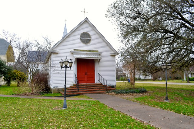Church with the Red Door